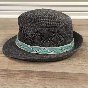 Claire's Lightweight Summer Fedora with Chevron